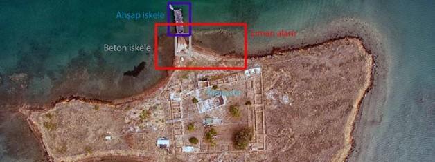 Tavuk Adası Antik Rıhtım Alanı