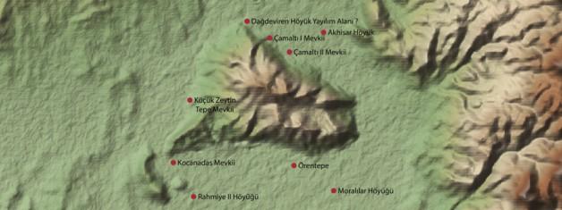 Akhisar, Karahöyük Dağı ve Çevresinde Tespit Edilen Höyük ve Yamaç Yerleşimleri
