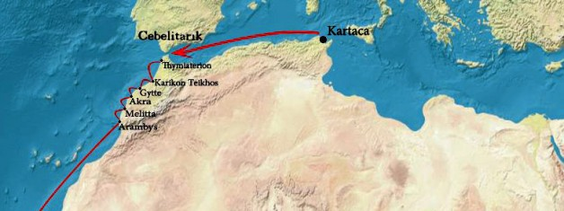 Kartacalı Hannon ve Batı Afrika Kıyılarına Seyrüsefer