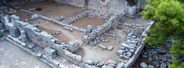 Phaselis'in Devlet Agorası: Tetragonal Agora